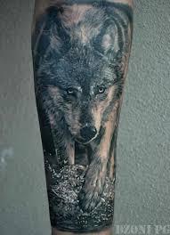 cool wolf forearm tattoos mayamokacomm
