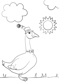 the cute coloring sheets of birds coloring pages for kids on