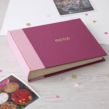 personalised photo albums beautiful and practical photograph albums handmade in our deluxe