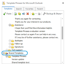 insert template phrases into outlook emails with a click