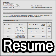 Resume Creator For Freshers by Download Easy Resume Maker For Fresher U0026 Experienced Format 3 4 5