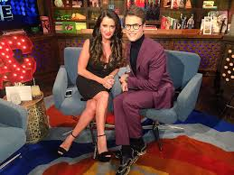 kyle richards hair extensions wwhl with kyle richards and brad goreski