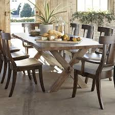bench made crossbuck table by bassett american home furniture