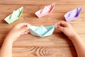 how to make a paper boat step by step persil