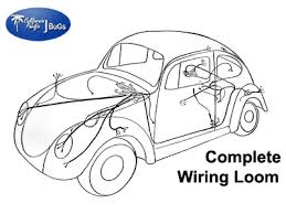 vw complete wiring kit for use with internally regulated