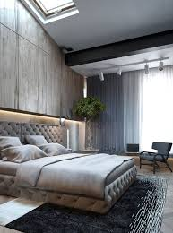 bed and living bed room