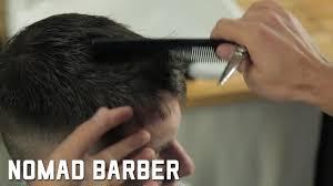 basic scissor cutting short messy haircut for beginners youtube