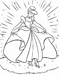 princess cinderella coloring pages coloring