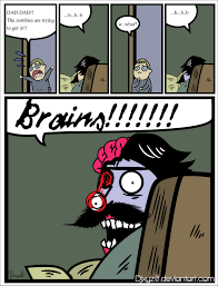 Stare Meme - stare dad zombie by djxyz0 on deviantart
