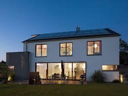 Bau Mein Haus Haus Rademacher Leuchtendes Beispiel An Energieeffizienz