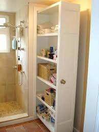 bathroom linen closet ideas take the door off your bathroom linen closet for a chic and open