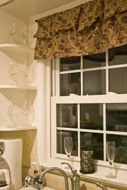 window treatment ideas for kitchen kitchen traditional kitchen curtain inspiration with brown flower