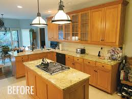 how to clean factory painted kitchen cabinets mimi vanderhaven get that new custom cabinet look without
