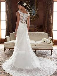 lace wedding gown white straps column beading court lace wedding dress mock