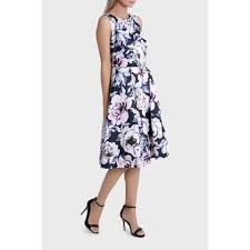 trent nathan events peony floral fit and flare dress sale midi