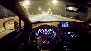 lexus nx 200t interior 2016 lexus nx 200t f sport wr tv pov night drive youtube