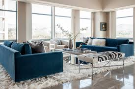 downtown penthouse transitional living room boise by