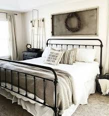 Best 25 Farmhouse Bed Frames by Best 25 Black Iron Beds Ideas On Pinterest Black Spare Bedroom