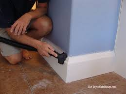 how to install baseboard 110 for 2 00 ft the joy of moldings com