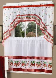 fabulous kitchen curtains sets and inspirations picture window