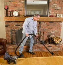 vacuuming hardwood floors with your kirby