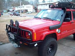jeep xj stock bumper m8000 install in arb bull bar naxja forums north american