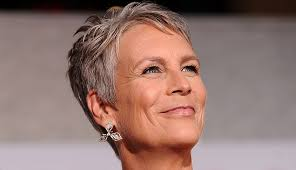 how to get jamie lee curtis hair color going gray is suddenly glamorous fashion beauty