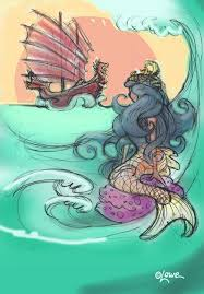 dave lowe design the blog little mermaid sketches