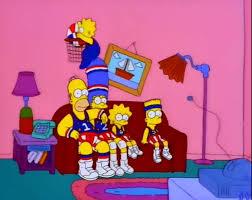 dans le canapé gags du canapé de la saison 9 the simpsons park toute l