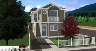 plan no 195158 this duplex plan fits nicely onto a narrow lot