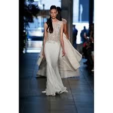 Halter Wedding Dresses Unexceptionable Boat Neck Chiffon And Lace Halter Wedding Dress