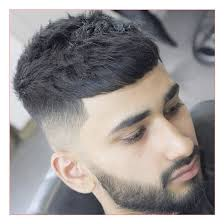 indian haircut for men along with french crop with high taper fade