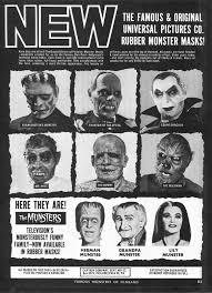 2012 Don Post Studios Catalog Blood Curdling Blog Of Monster Masks by Don Post Universal Monster Mask Ad Creepy 2 Blood Curdling