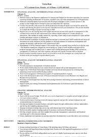 financial analyst resume exle analyst senior financial analyst resume sles velvet