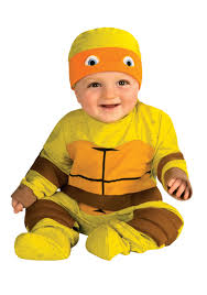 Michelangelo Ninja Turtle Halloween Costume Infant Ninja Turtle Jumper