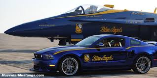 the with the blue mustang blue mustang blue jet and ford mustang ford