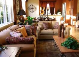 traditional living rooms indian room designs brown wooden table