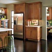 Black Glazed Kitchen Cabinets Saxony Maple Whiskey Black Glaze By Thomasville Cabinetry Home