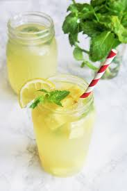pineapple mojito recipe sparkling pineapple lemonade the tasty bite