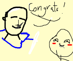 Oh Stop It U Meme - good guy greg compliments oh stop it you meme drawing by hitsuji