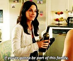 Cougar Town Memes - family drinking gif find download on gifer