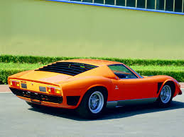 sport cars lamborghini 1971 1975 lamborghini miura svj lamborghini supercars net