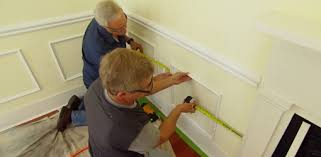 Install Wainscoting Over Drywall Interior Molding Makeover Project Today U0027s Homeowner