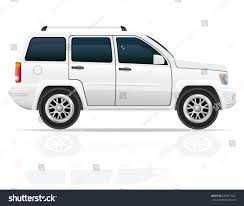 car jeep white car jeep off road suv illustration stock illustration 235617922