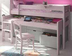 lit avec bureau coulissant lit mezzanine pour la chambre de votre enfant lit et meubles