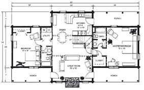 free cabin blueprints featured log home plans merrylog brentwood log homes