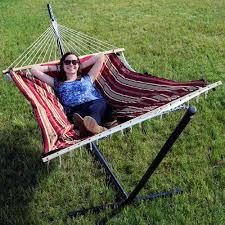 sunnydaze hammocks u0026 accessories hammock with stand sears
