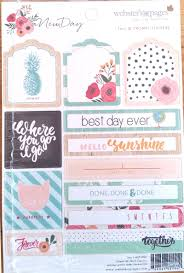 photo pages 4x6 pages 4x6 cardstock stickers new day