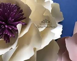 Paper Flowers Video - video tutorial free standing peony giant paper flower and