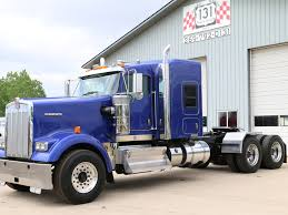 kenworth w900 used 2014 kenworth w900 tandem axle sleeper for sale in mi 1067